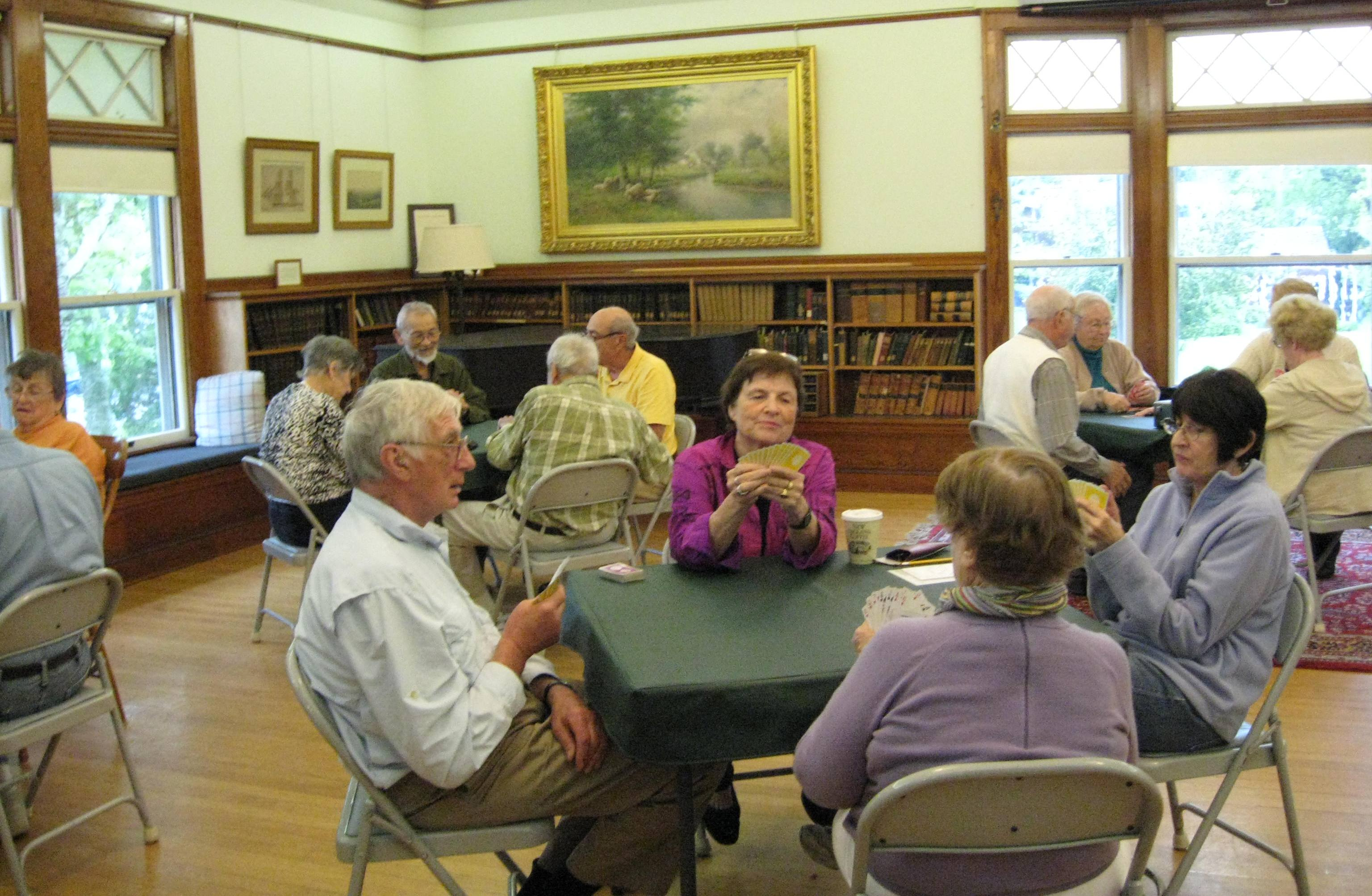 Bridge Group at West Falmouth Library