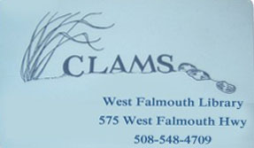 West Falmouth Library CLAMS card