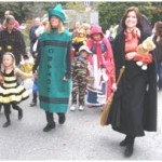 Halloween Parade at West Falmouth Library 2011