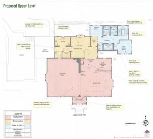 Proposed upper level rendering