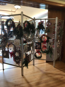 Winter Boutique Craft Items & Greens Arrangements