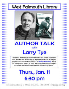 Author Talk with Larry Tye