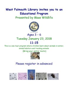 Winter Wildlife Program for Kids