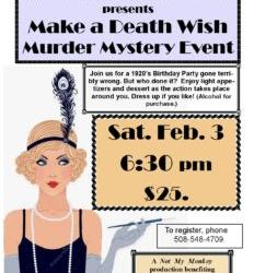 Murder Mystery Event